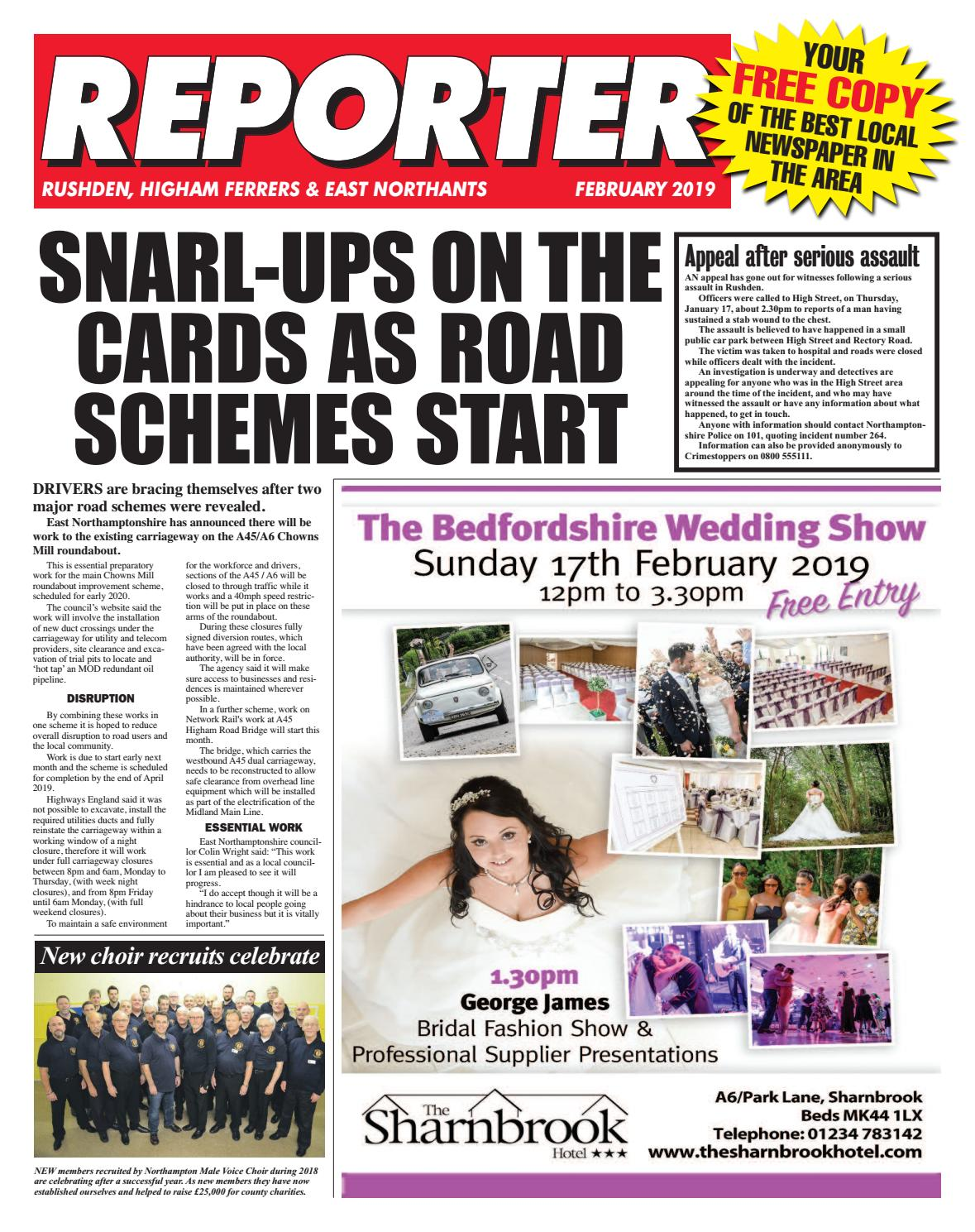 East Northants Reporter February 2019 by Rosetta Publishing