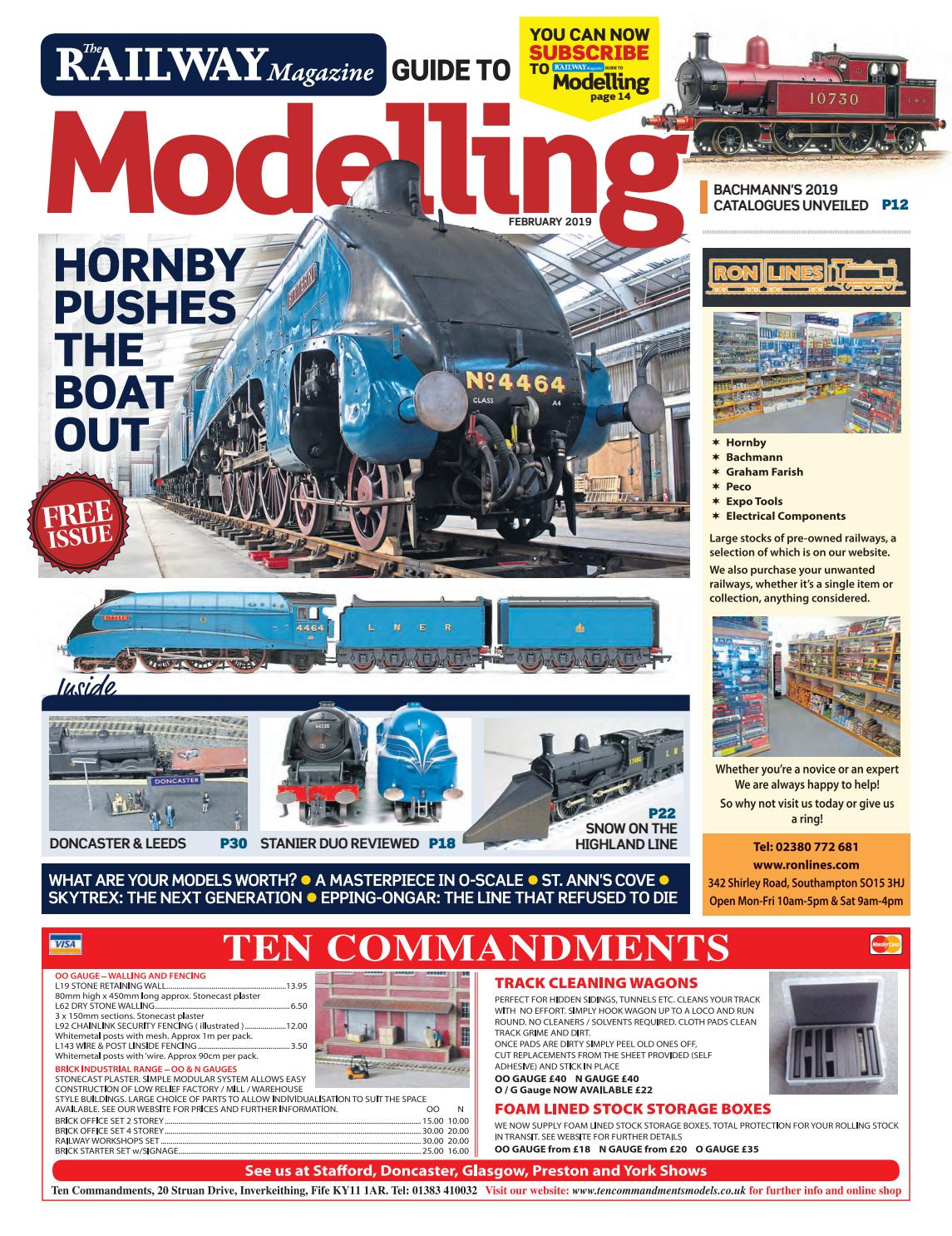 The Railway Magazine Guide to Modelling - February 2019 - Preview by on johnson wiring diagram, razor wiring diagram, lionel wiring diagram, bell wiring diagram, emerson wiring diagram, atlas wiring diagram, american flyer wiring diagram, proto 2000 wiring diagram, braun wiring diagram, digitrax wiring diagram, bosch wiring diagram, harris wiring diagram, apc wiring diagram, ihc wiring diagram, dremel wiring diagram, evergreen wiring diagram, meyer wiring diagram, nce wiring diagram, becker wiring diagram, lgb wiring diagram,