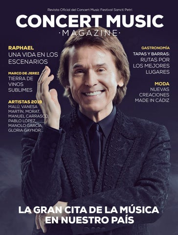 5cf279f2c Concert Music Magazine nº1 by El Periódico de Chiclana - issuu