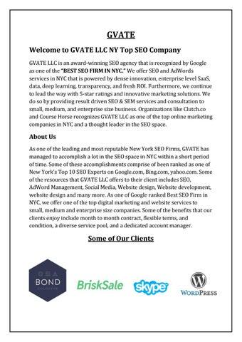 New York City|SEO Service Company NY|Reputable Web