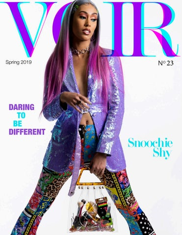 8676625b472 Voir Fashion Issue 23 : Daring To Be Different ft Snoochie Shy by ...