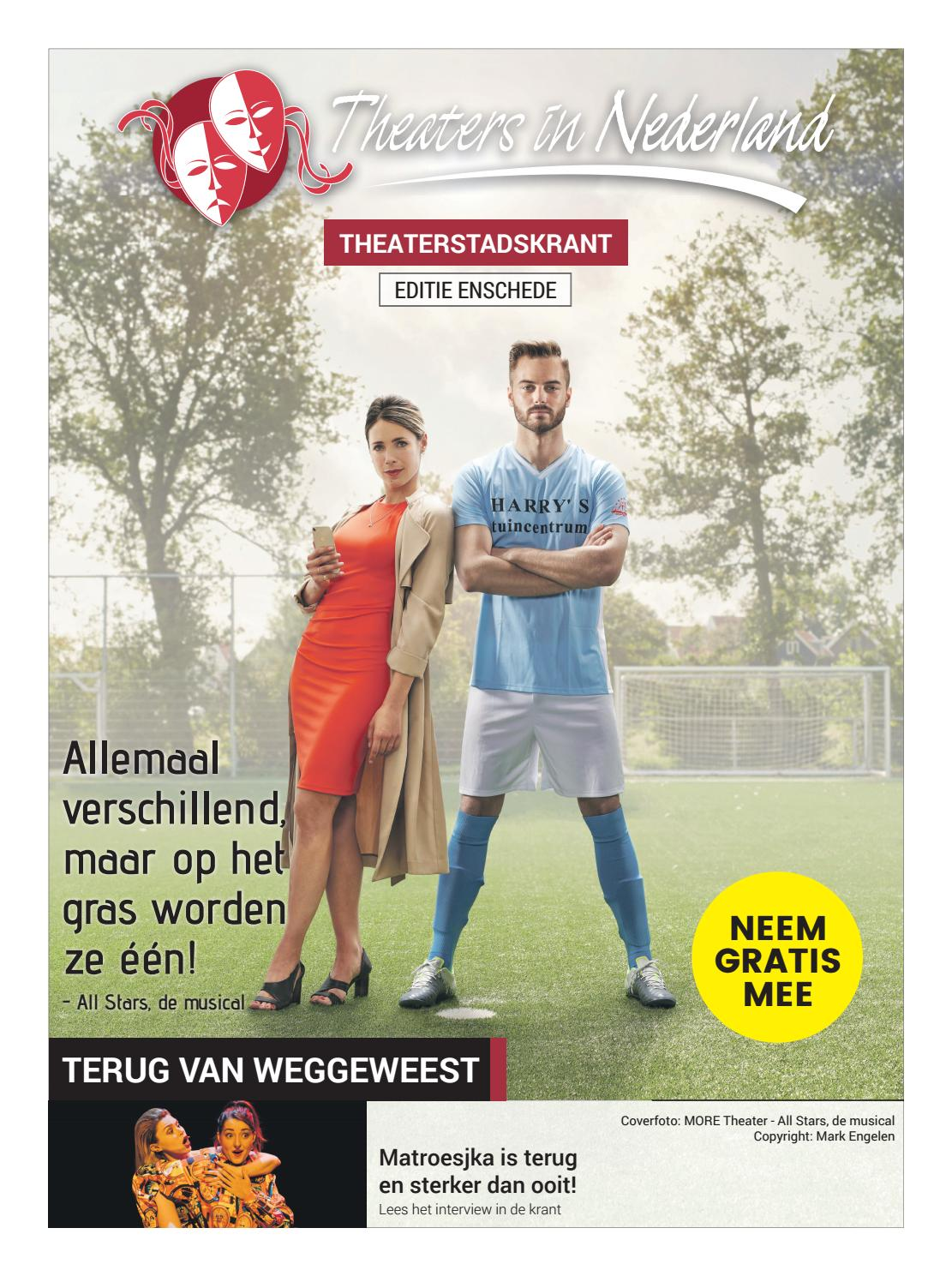9df38e3852ad Theaterstadskrant Enschede januari 2019 by Theaters in Nederland - issuu