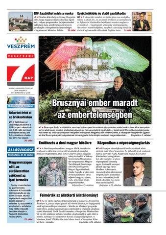 Veszprémi 7 Nap - 2018. 01. 17. by Maraton Lapcsoport Kft. - issuu e7d7e29a01