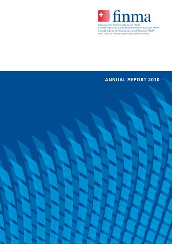 Finma Annual Report 2010 EN by BBF CH - issuu