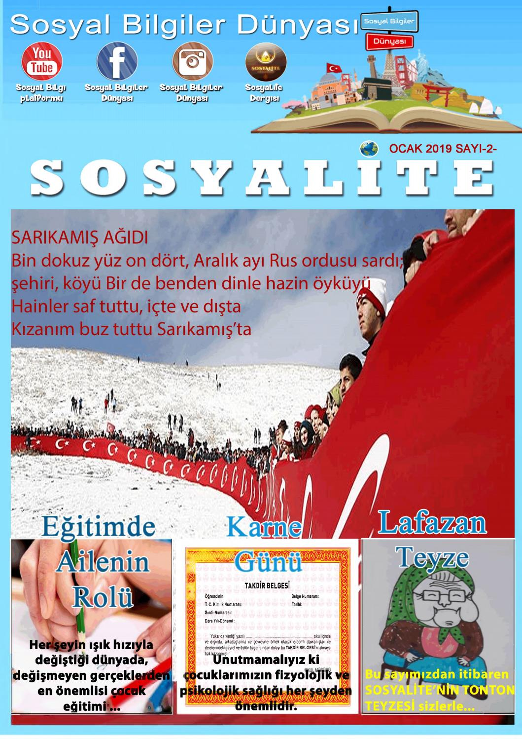 Sosyalite Ocak 219 by Erk As - issuu