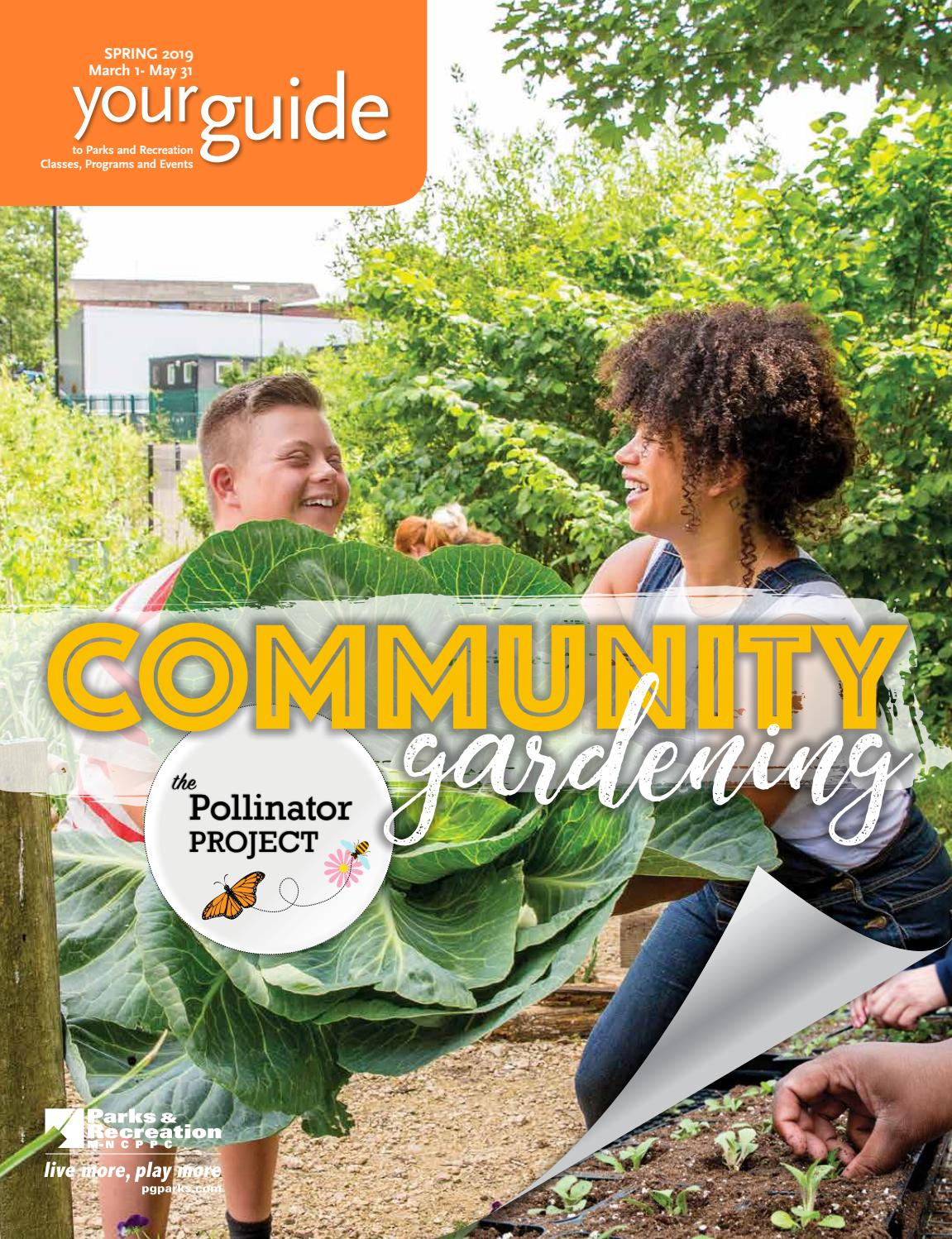 2019 Spring Guide by M-NCPPC, Department of Parks