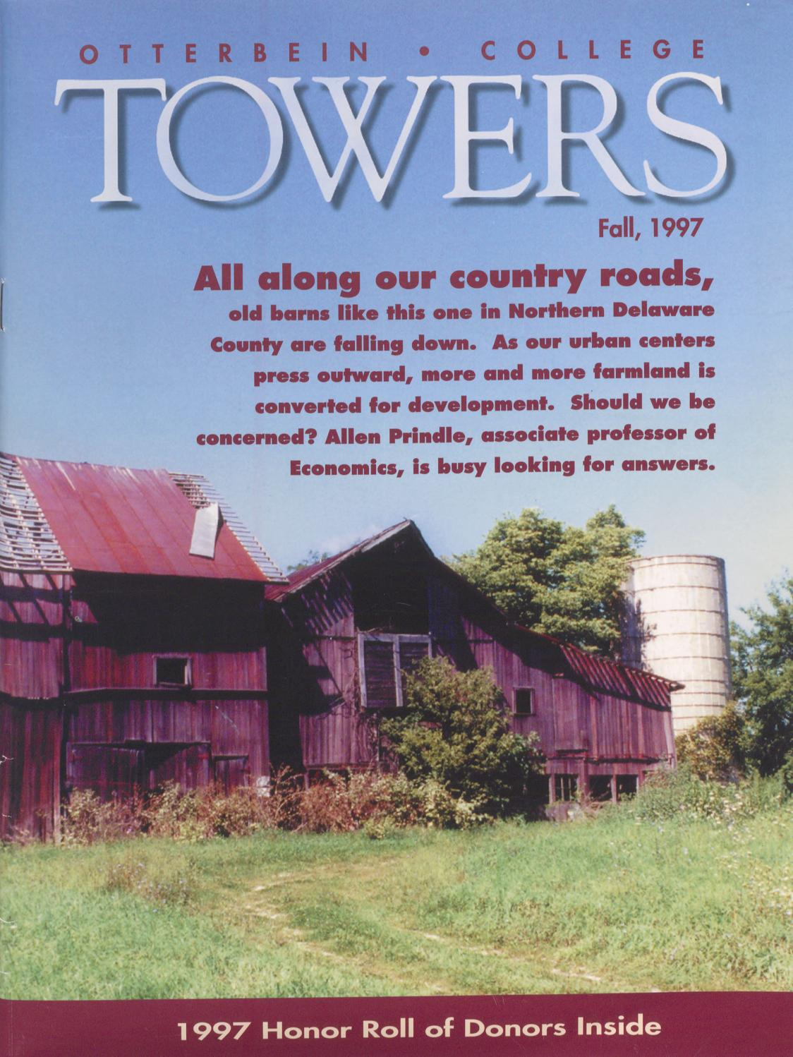 7c743a1cce65 Towers 1997 Fall by Otterbein University - issuu