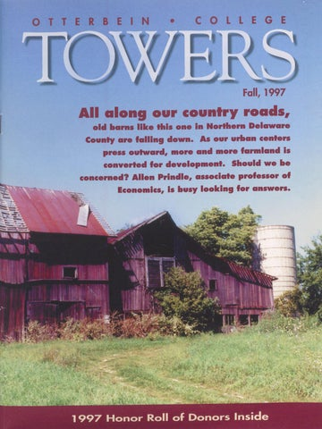 Towers 1997 Fall By Otterbein University Issuu