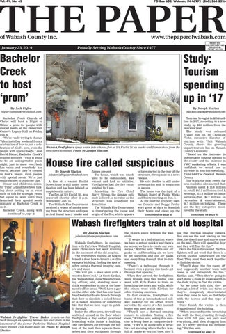 The Paper Of Wabash County Jan 23 2019 Issue By The Paper Of