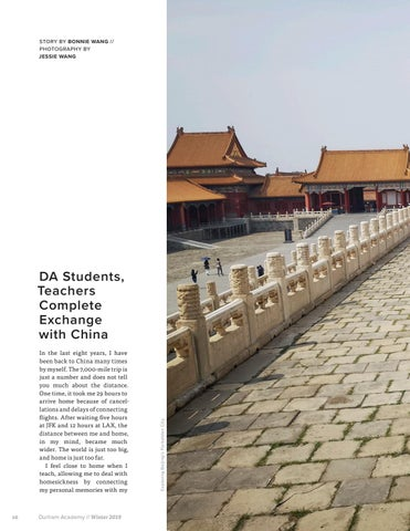 Page 18 of DA Students, Teachers Complete Exchange with China
