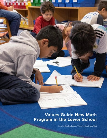 Page 27 of Values Guide New Math Program in the Lower School