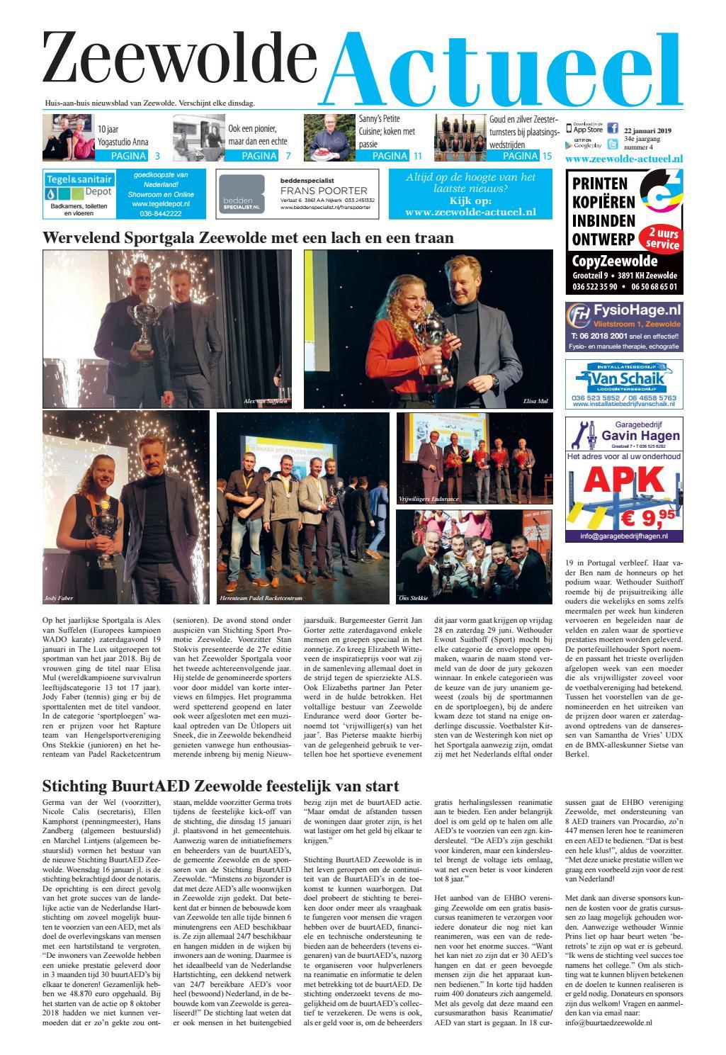 7bb18a4fbbdcdc Zeewolde Actueel week 04 2019 by Zeewolde Actueel - issuu