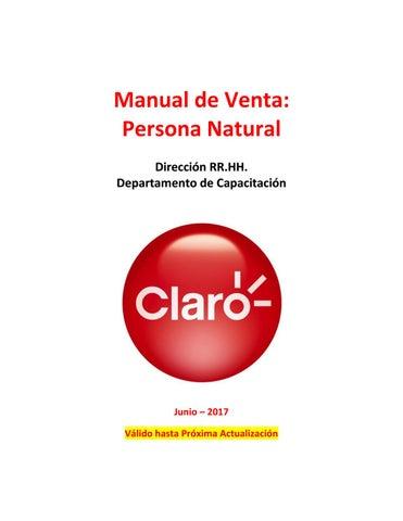 95677556122 Manual de venta persona Claro Chile by Eduardo Ferrer Schnettler - issuu