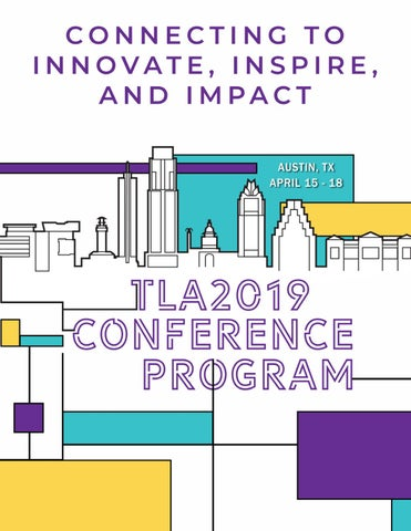 TLA 2019 Annual Conference Program by Texas Library