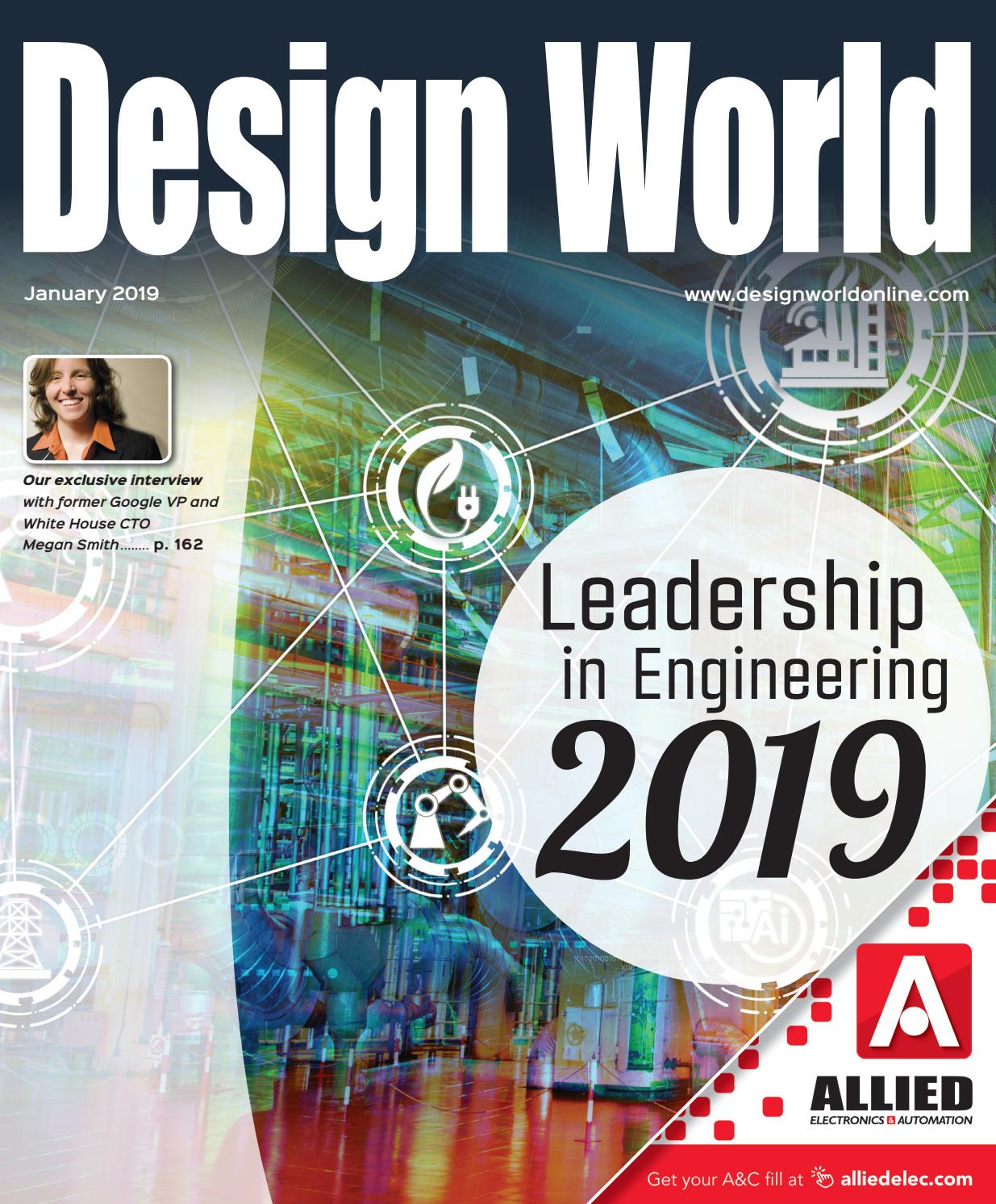 DESIGN WORLD JANUARY 2019 - MAIN ISSUE by WTWH Media LLC - issuu d834d2ca669b4
