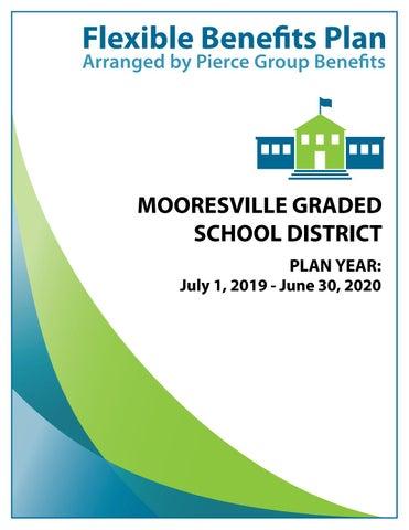 Mooresville Graded School District 2019 Booklet - 2019-2020