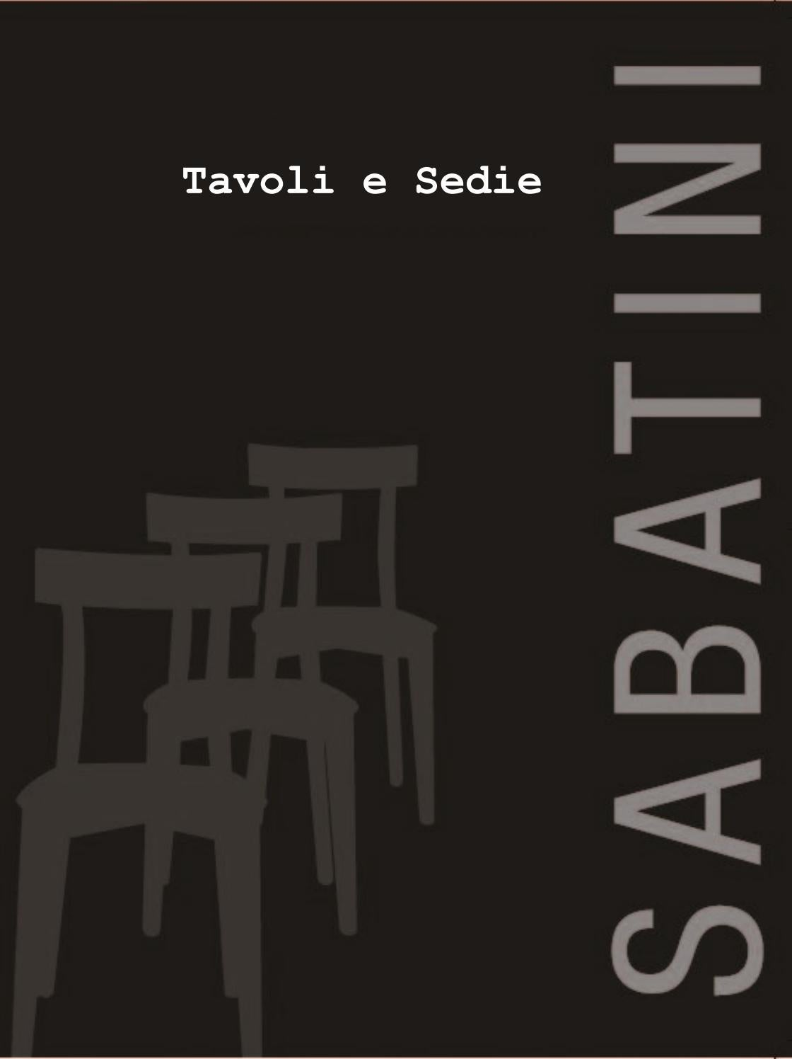 Sabatini Tavoli E Sedie.Tavoli E Sedie By Milleunoidee Issuu
