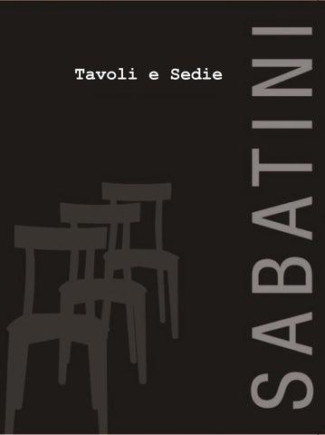 Sabatini Sedie E Tavoli.Tavoli E Sedie By Milleunoidee Issuu