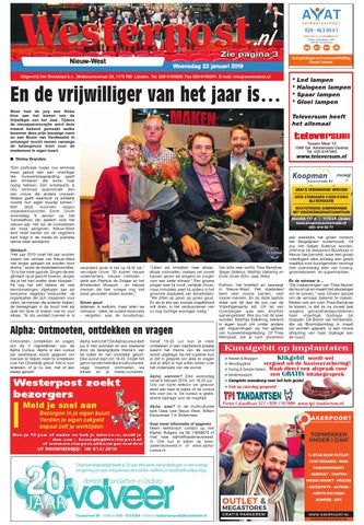 94c05744bf5 Westerpost 23 januari 2019 by Westerpost - issuu