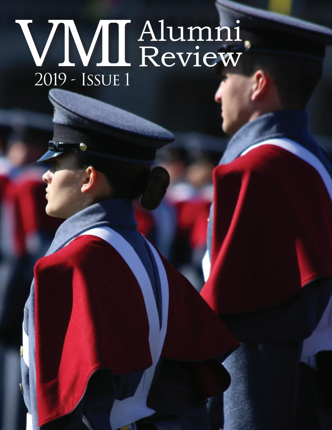 2019 Issue 1 Alumni Review By Vmi Alumni Agencies Issuu