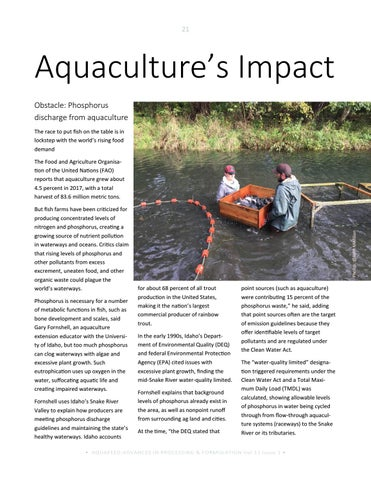 Page 21 of Aquaculture's Impact