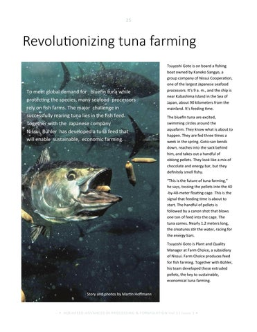 Page 25 of Revolutionizing tuna farming