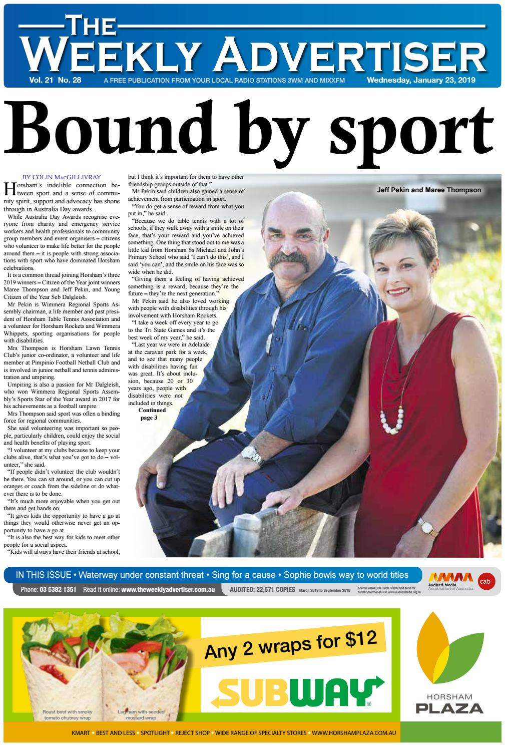 5c54399ae4 The Weekly Advertiser - Wednesday