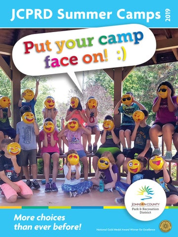 JCPRD Summer Camp Guide 2019 by JCPRD / Johnson County Park