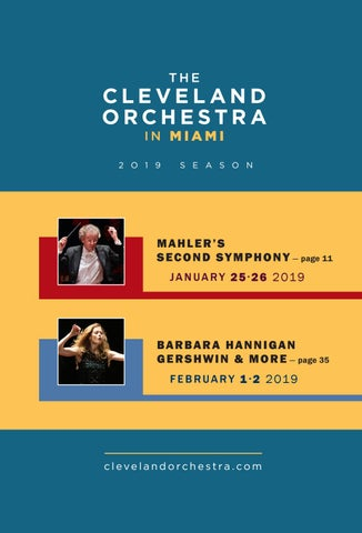 The Cleveland Orchestra in Miami by Live Publishing - issuu
