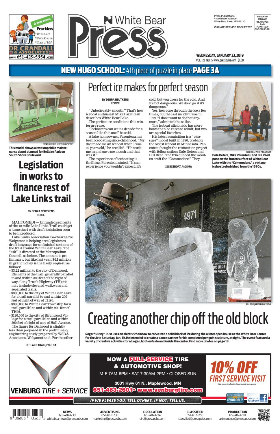 371645aaf30 White Bear Press by Press Publications - issuu