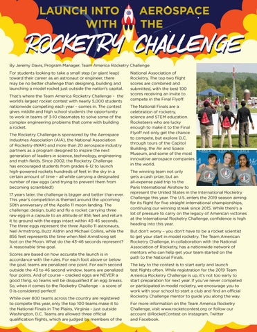 Page 12 of Launch into Aerospace with the Rocketry Challenge