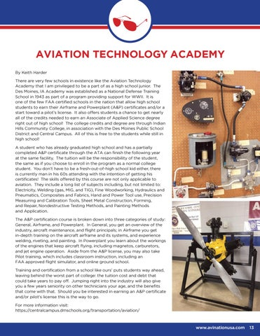 Page 13 of Aviation Technology Academy
