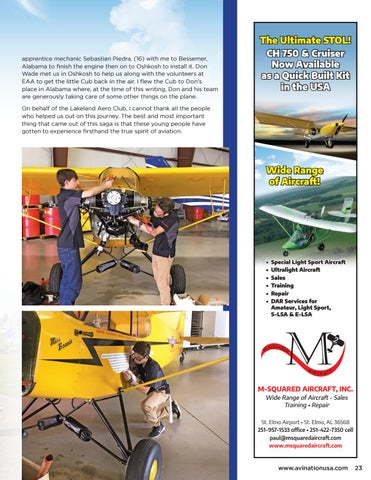 Page 23 of Lakeland Aero Club Trip to Oshkosh…Part Deux