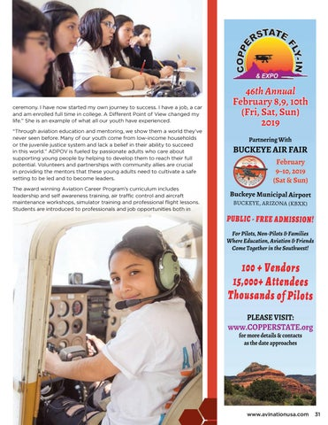 Page 31 of Aviation Changes the Lives of Youth with A Different Point Of View