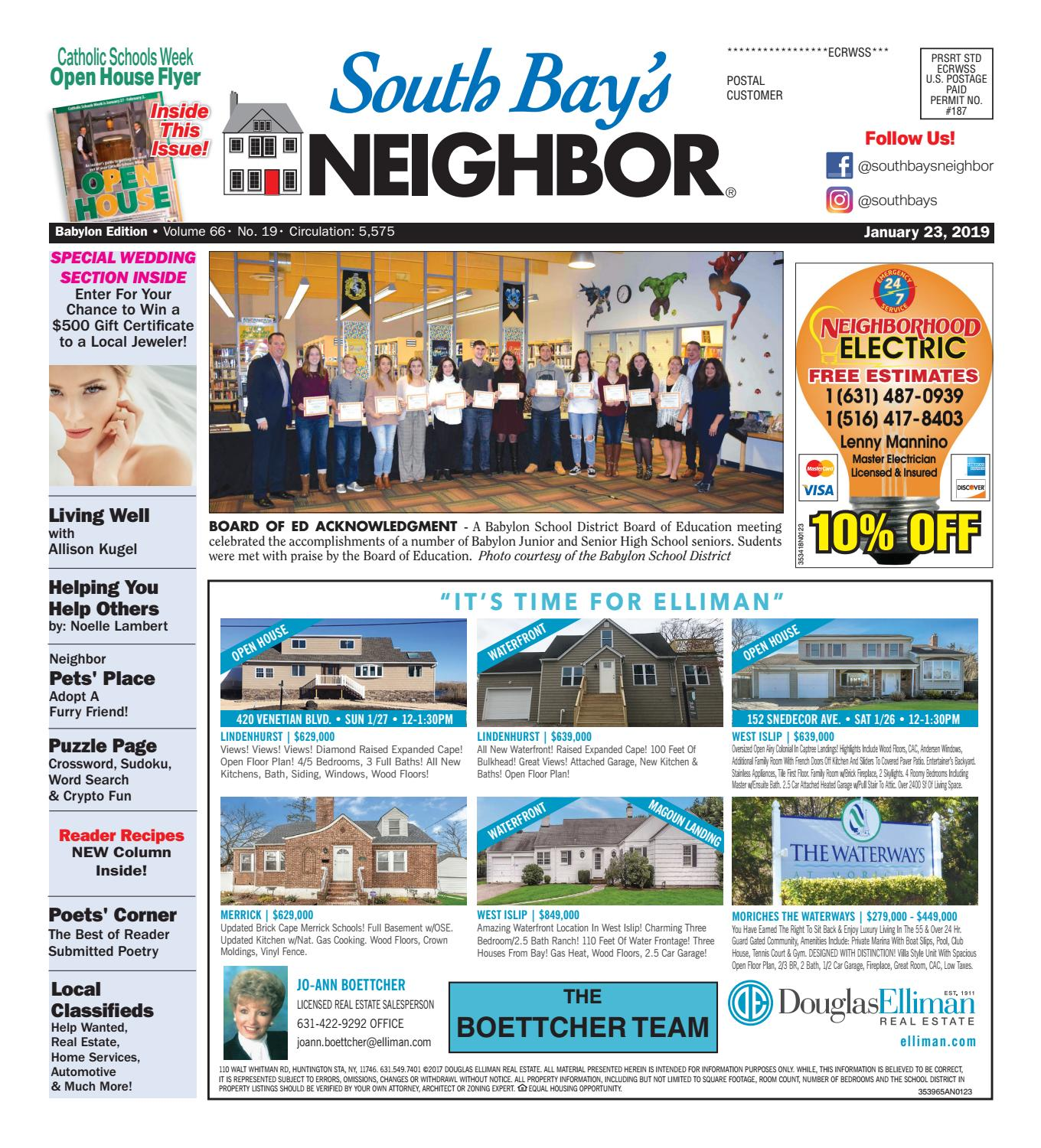 January 23, 2019 Babylon by South Bay's Neighbor Newspapers