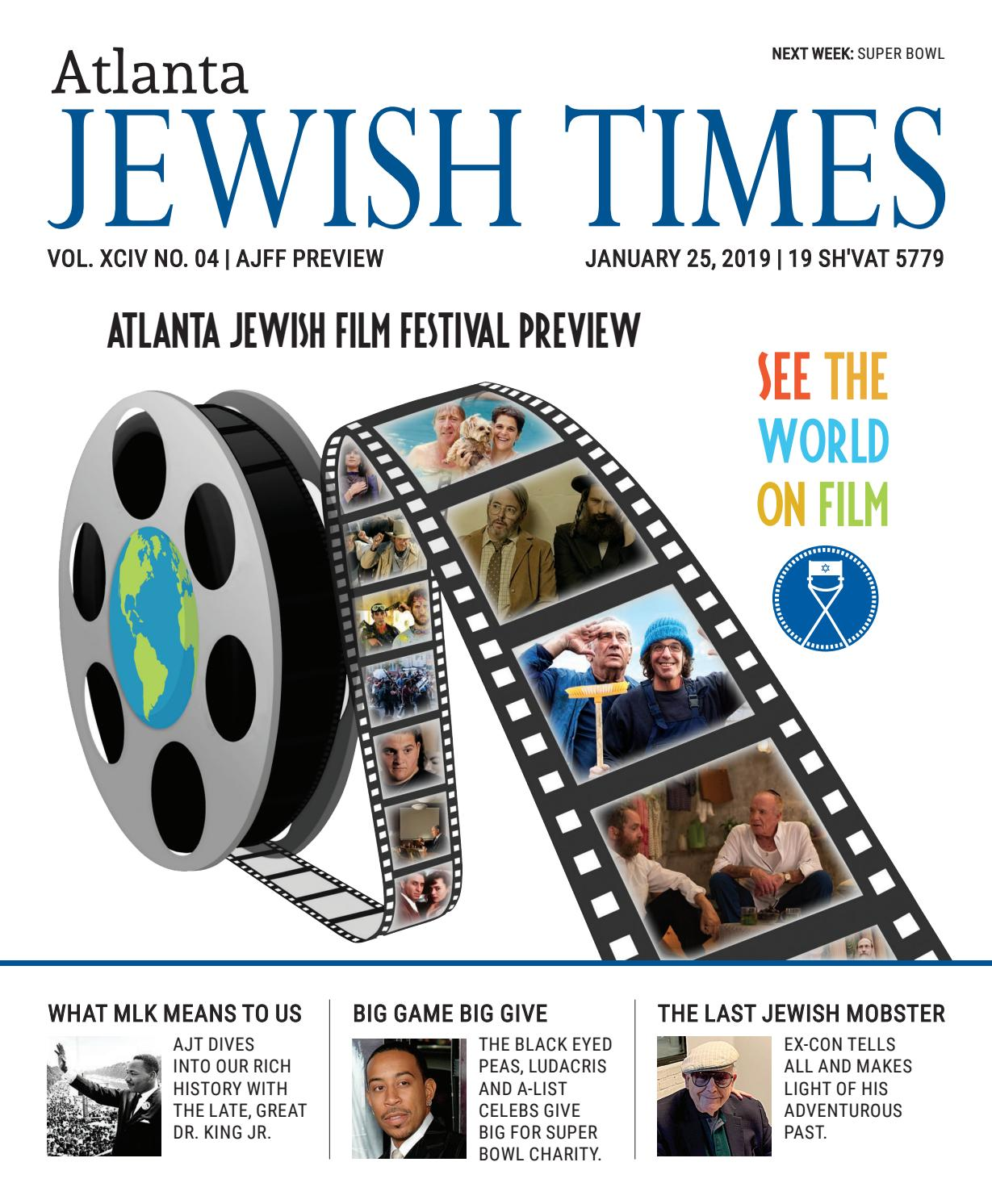 Atlanta Jewish Times, XCIV No  04, January 25, 2019 by Atlanta