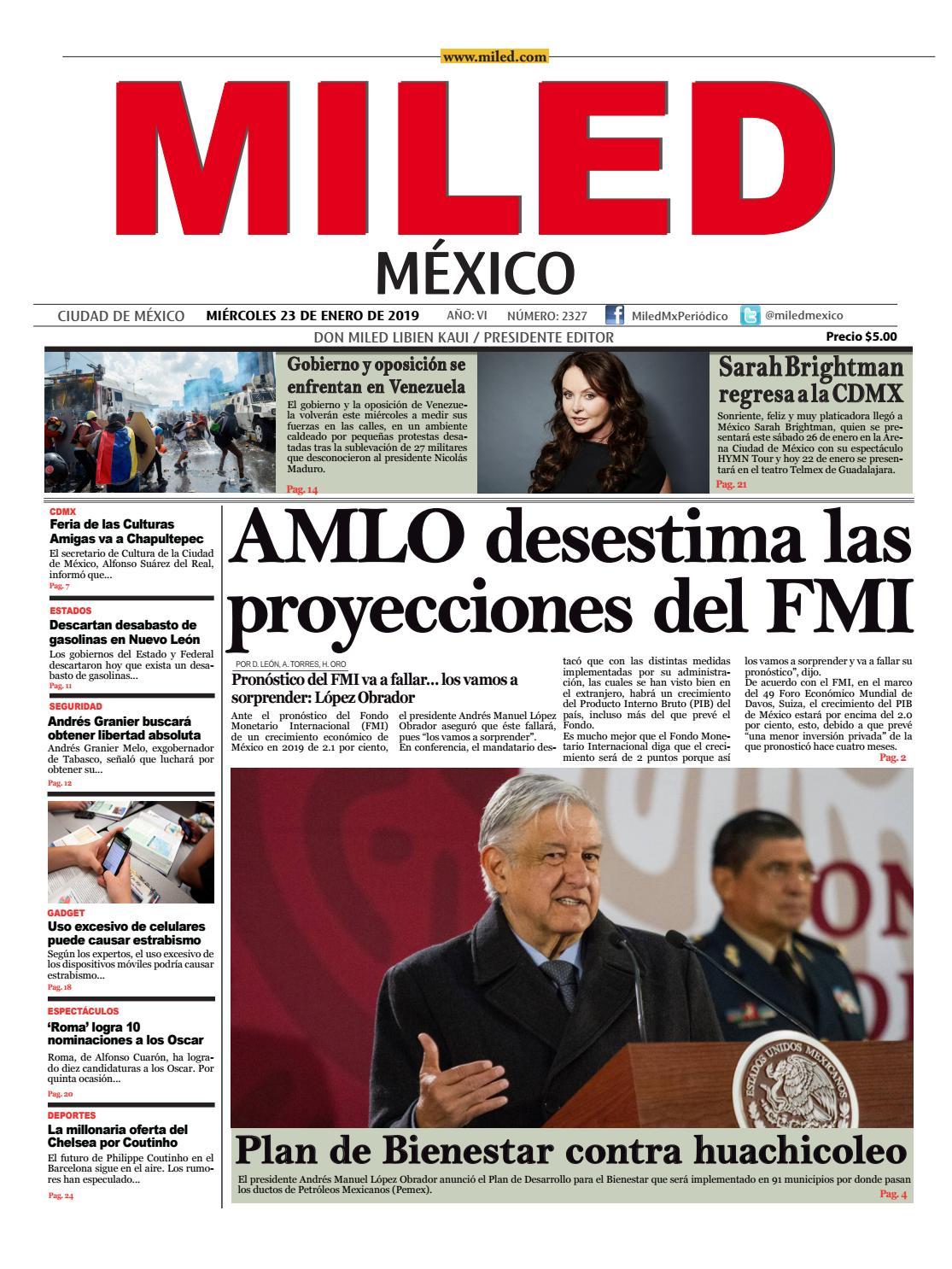 Miled México 23-01-19 by Grupo Miled - issuu 693ae71af41d2