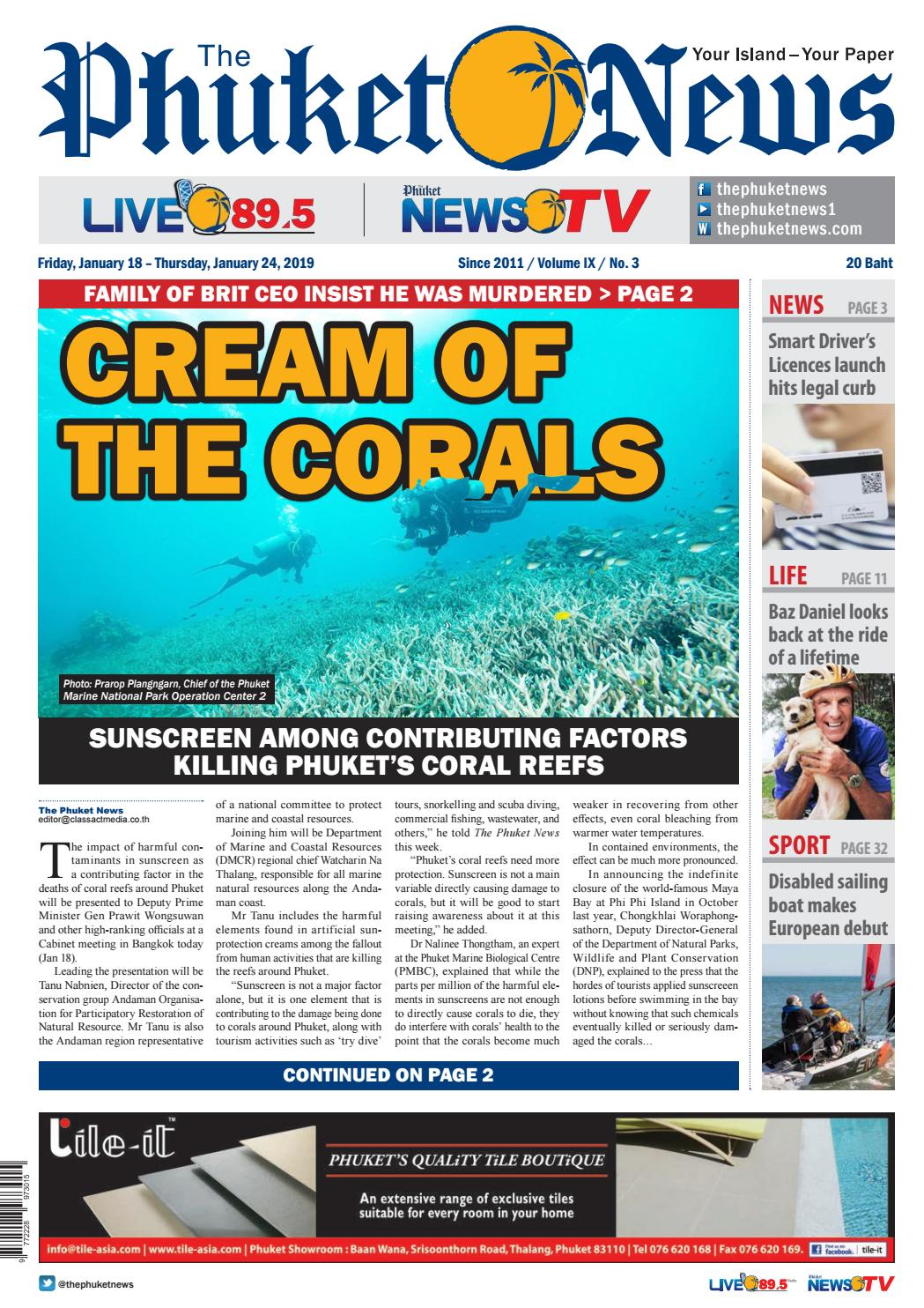 The Phuket News 18 January 2019 by The Phuket News - issuu