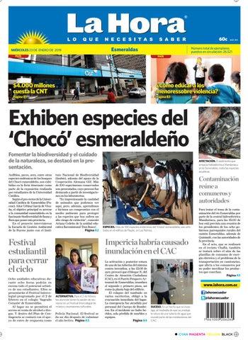 a1c7d1158ca Esmeraldas 23 de enero de 2019 by Diario La Hora Ecuador - issuu