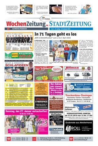 Wochenzeitung Altmuhlfranken Kw 04 19 By Wochenzeitung