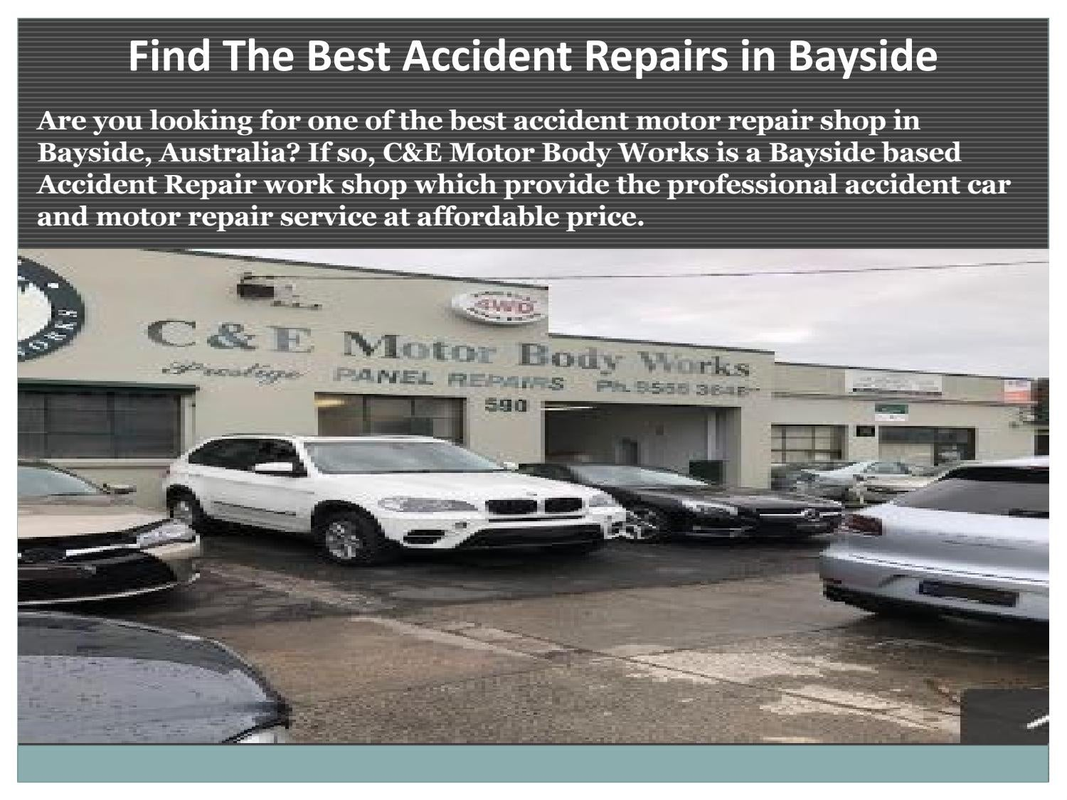 BMW Bayside Service >> Find The Best Accident Repairs In Bayside By Cemotorbody Issuu