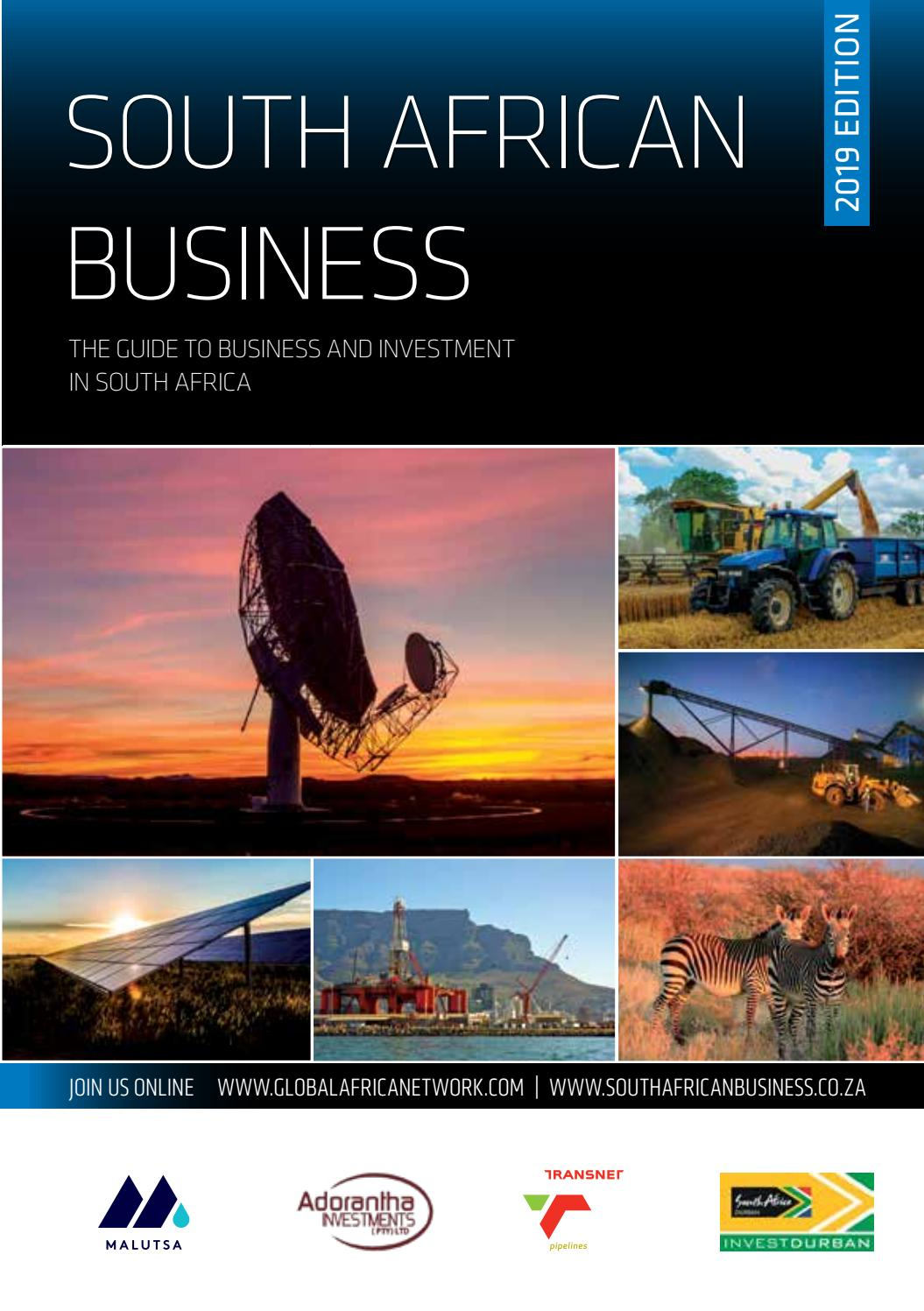 80652fbf9199 South African Business 2019 by Global Africa Network - issuu