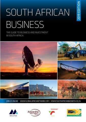South African Business 2019 by Global Africa Network - issuu
