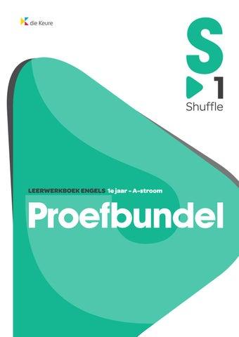 Shuffle 1 Proefbundel By Die Keure Issuu