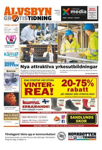 b61ff3a8d198 Älvsbyn Gratistidning vecka 04, 2019 by Svenska Civildatalogerna AB ...