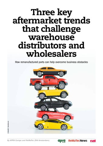 Page 1 of Thee key aftermarket trends that challenge warehouse distributors and wholesalers