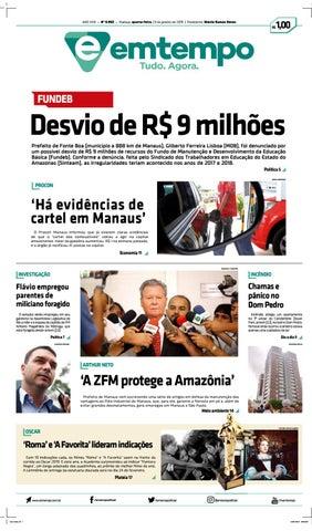 8ec7af12f84 Em Tempo - 23 de Janeiro de 2019 by Amazonas Em Tempo - issuu