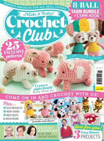 Bumble Bee Bundle - Club Crochet | 436x320