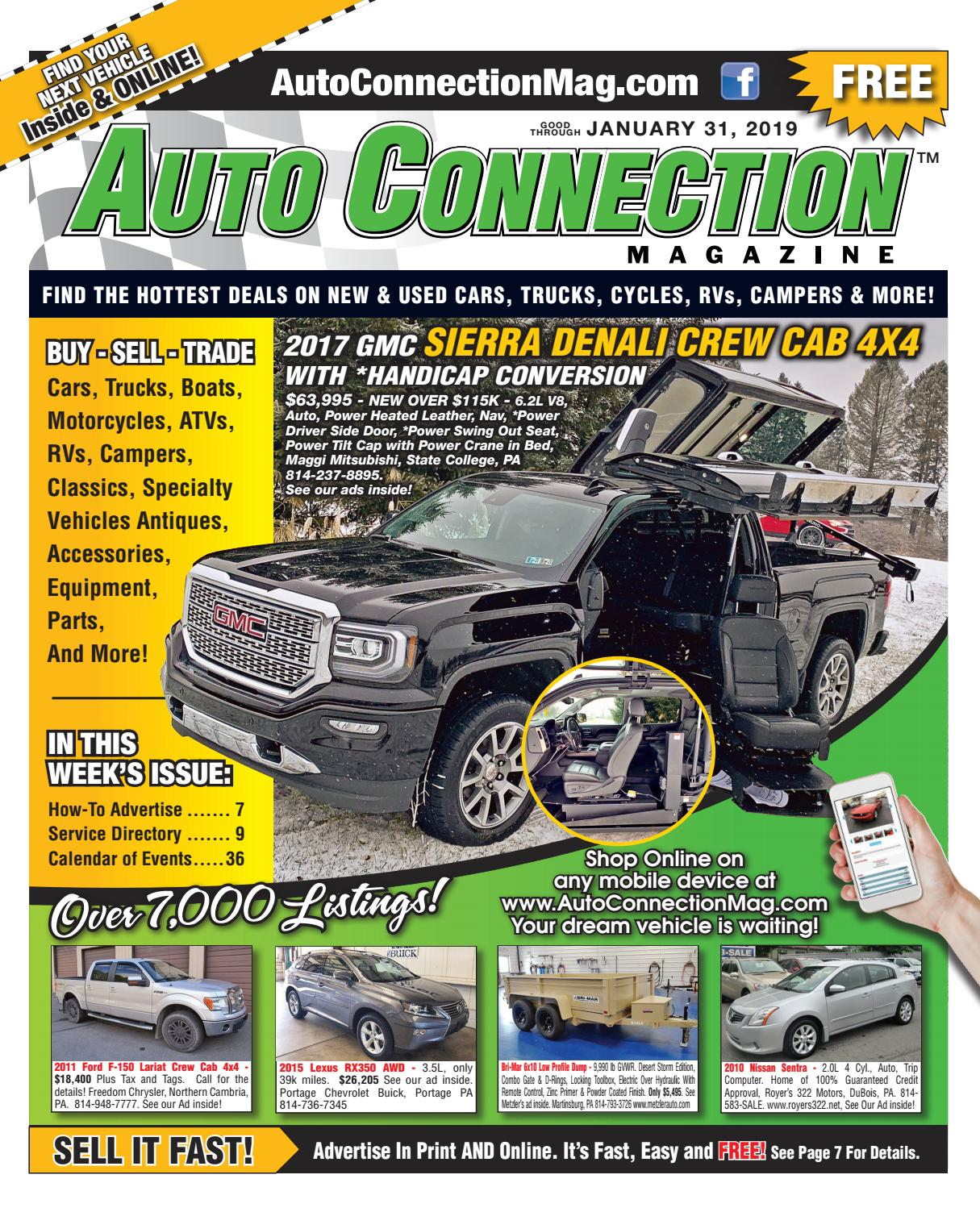 01-31-19 Auto Connection Magazine by Auto Locator and Auto