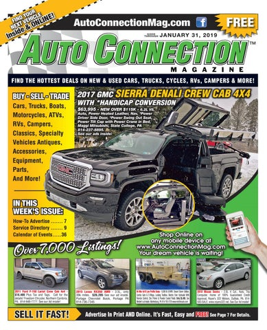 01 31 19 auto connection magazine by auto locator and auto01 31 19 auto connection magazine